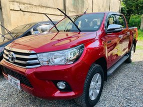 Red 2016 Toyota Hilux Truck Manual Diesel for sale