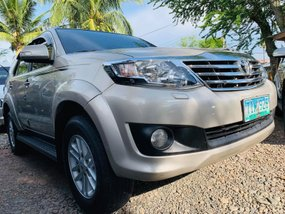 2nd Hand 2012 Toyota Fortuner Manual Diesel for sale