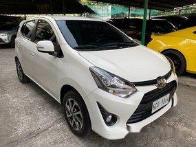 White Toyota Wigo 2017 at 11000 km for sale