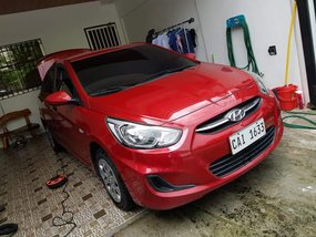 Sell Red 2018 Hyundai Accent Manual Diesel