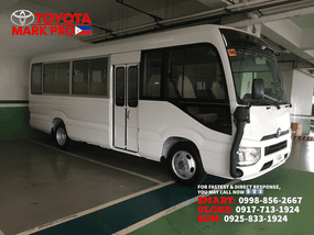 White Toyota Coaster 2020 for sale in Valenzuela