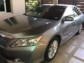 Silver 2014 Toyota Camry at 45000 km for sale