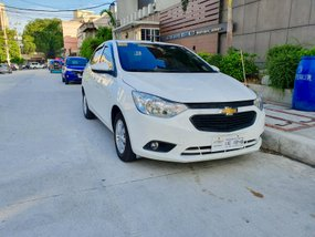 White 2018 Chevrolet Sail at 6000 km for sale in Quezon City