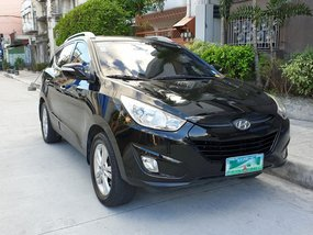 Black 2012 Hyundai Tucson Automatic Diesel for sale