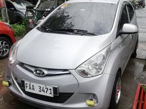 Selling Silver Hyundai Eon 2016 Hatchback at 55000 km