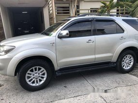 Silver Toyota Fortuner 2006 at 162000 km for sale