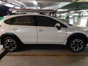 White Subaru Xv 2013 Automatic Gasoline for sale