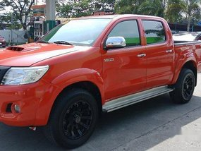 Selling Red Toyota Hilux 2013 in Meycauayan