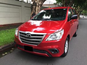 Red 2016 Toyota Innova for sale in Makati
