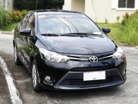 Sell Black 2015 Toyota Vios at 33000 km in Muntinlupa