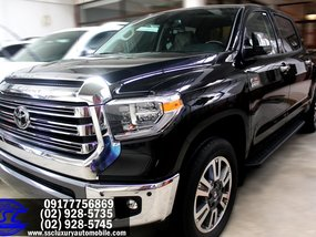 Black 2019 Toyota Tundra 1794 Edition for sale in Quezon City