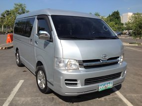 Toyota Hiace GL Grandia 2007 model Diesel MT for sale in Lucena City