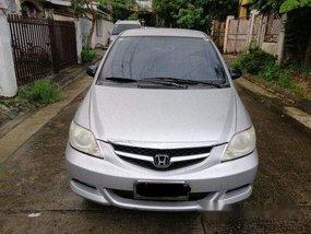 Silver Honda City 2007 for sale in Quezon City