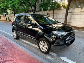 Selling Black Ford Ecosport 2016 Automatic Gasoline at 29000 km