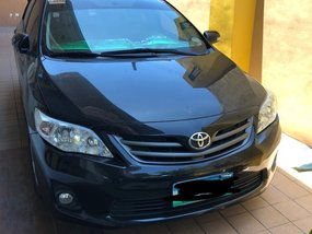 Sell Black 2013 Toyota Corolla Altis Automatic in Quezon City