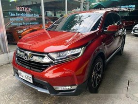 Selling Red Honda Cr-V 2018 at 12000 km