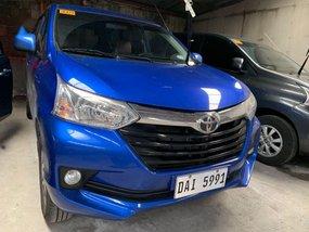 Blue Toyota Avanza 2018 for sale in Quezon City