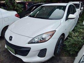 White Mazda 3 2014 for sale in Makati