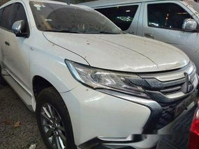 White Mitsubishi Montero Sport 2016 for sale in Makati
