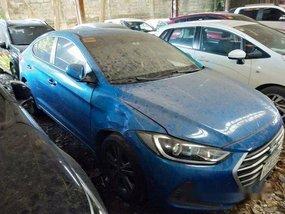 Sell Blue 2016 Hyundai Elantra at 59000 km