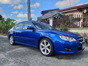 Selling Blue Subaru Legacy 2008 Automatic Gasoline