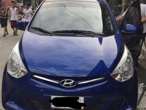 Selling Blue Hyundai Eon 2016 at 60000 km in Caloocan
