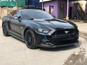 Selling Black Ford Mustang 2017 Automatic Gasoline in Cebu City