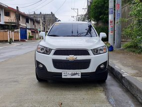 White 2015 Chevrolet Captiva Diesel Automatic for sale