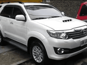 Used Toyota Fortuner V2014 for sale in Quezon City