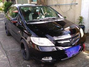 Selling Black Honda City 2008 Sedan in Calamba