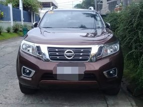 Red 2018 Nissan Navara Truck for sale in Las Pinas