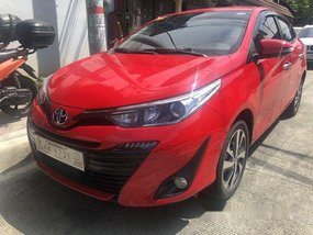 Red Toyota Vios 2019 at 1500 km for sale