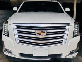 White Cadillac Escalade 2019 Automatic Gasoline for sale
