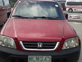 Sell Red Honda Cr-V 2000 Manual at 162000 km