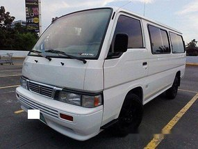 Sell White 2013 Nissan Urvan Manual Diesel at 46000 km