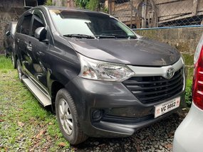 Grey Toyota Avanza 2016 for sale in Quezon City
