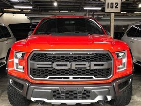 Selling Red Ford F-150 2019 Automatic Gasoline