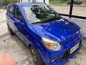 Selling Blue Suzuki Alto 2017 at 18000 km