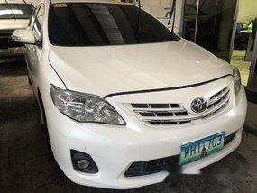 White Toyota Corolla Altis 2013 Automatic Gasoline for sale