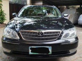 Black Toyota Camry 2005 at 81000 km for sale