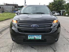 Sell Black 2013 Ford Explorer at 33000 km in Las Pinas