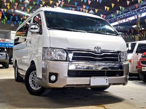 2014 Toyota HiAce Super Grandia 2T Diesel AT( We Accept Trade-In ) for sale in Quezon City