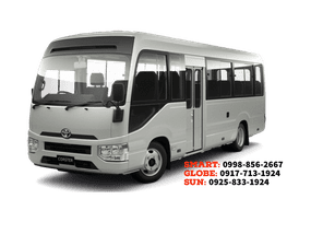 Toyota Coaster Mini Shuttle Bus Year 2020 for sale in Cebu City