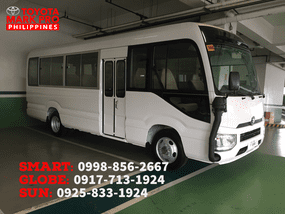 2020 Brand New Toyota Coaster for sale in Sarangani