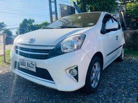 Sell White 2015 Toyota Wigo Manual at 40000 km