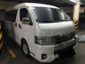 Sell White 2018 Toyota Hiace at 5000 km