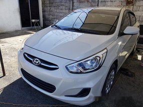 White Hyundai Accent 2015 for sale in Marikina