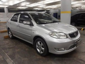 Selling Silver Toyota Vios 2004 at 99000 km