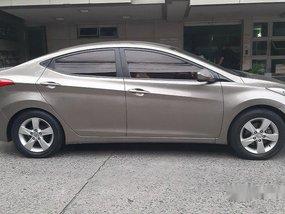 Grey Hyundai Elantra 2013 at 54000 km for sale