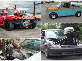 [For Fun] The top 10 strangest engine swaps we've seen on the Internet